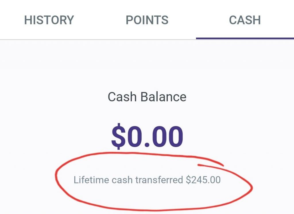 Freebird app lifetime cash back