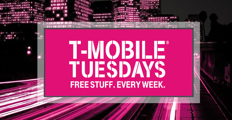 T-Mobile Tuesday free stuff this week