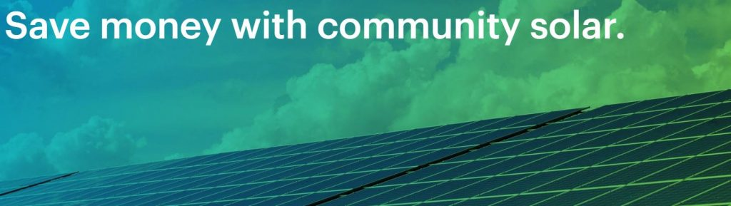 Saving money with Arcadia Power's community solar program