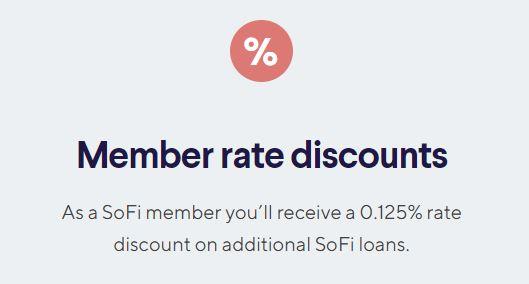 SoFi Money member discounts