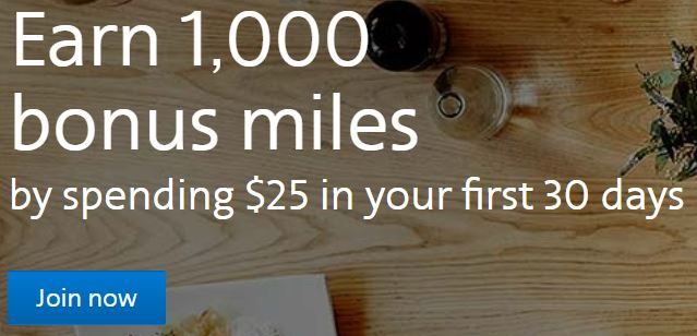 American Airlines AAdvantage Plan Dining program sign-up bonus