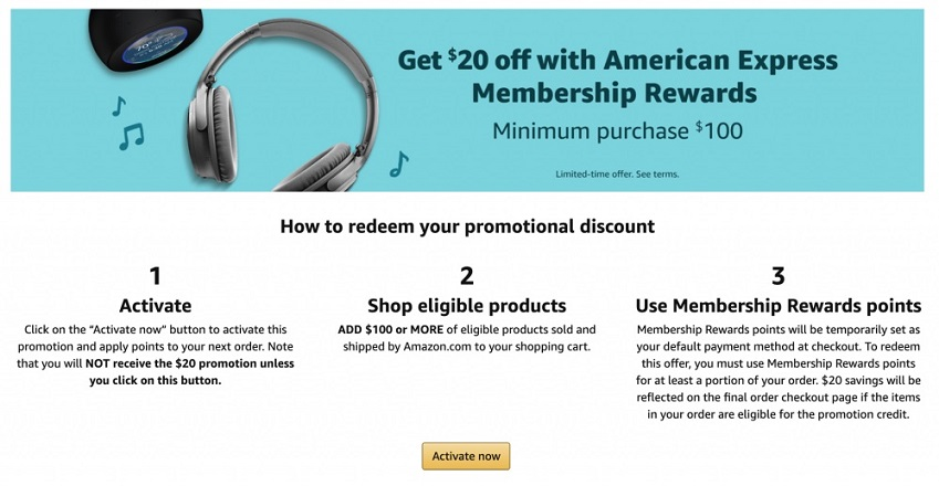 Get 6% Off At Amazon Using Just 6 AMEX Point - The Money Ninja