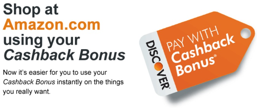 Linking Amazon to Discover Cashback Bonus