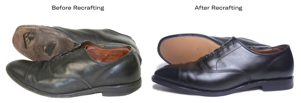 Allen Edmonds - Before and After Recrafting