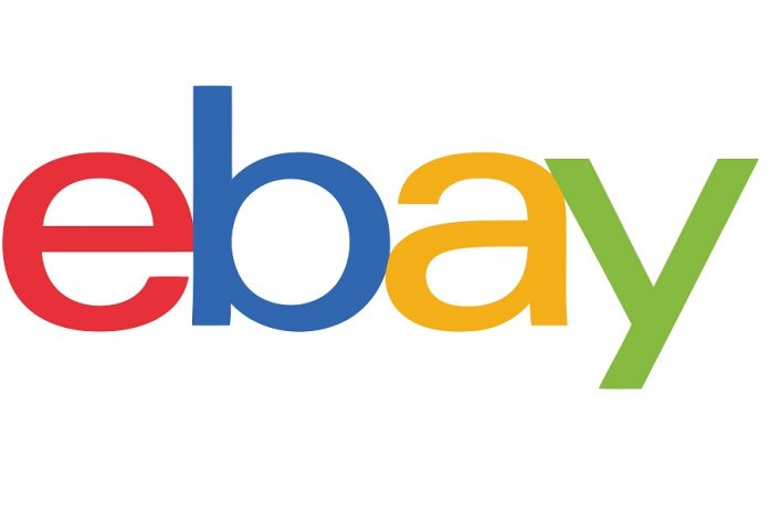 eBay logo on white background
