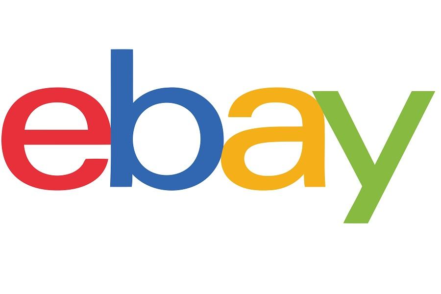 eBay logo on white background