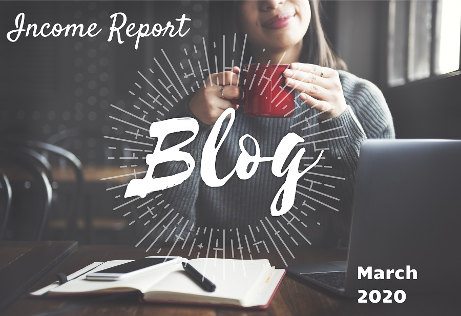 March 2020 blog income report featured image
