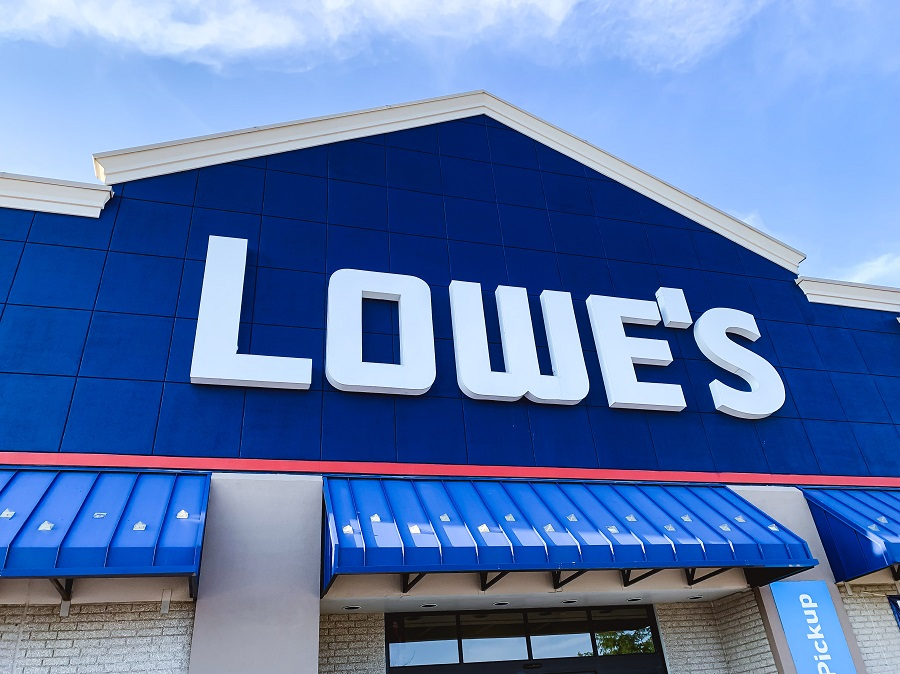 Lowe's logo on store building