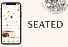 Seated App phone app and logo