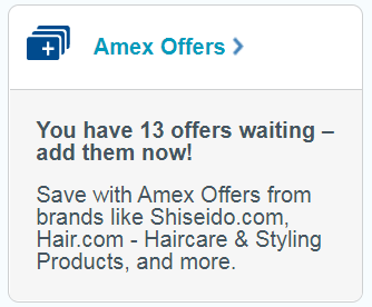 Amex Offers on Bluebird from American Express