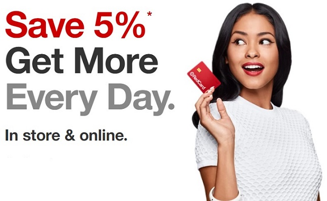 Target RedCard 5% discount benefit