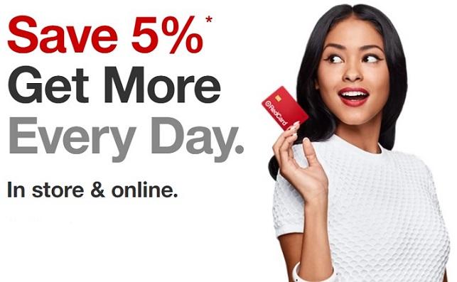 Target RedCard 5% discount benefit