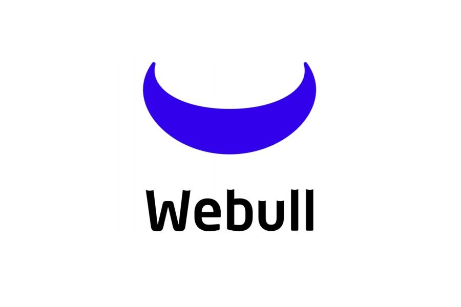 Webull Logo over white background