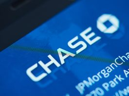 Chase logo on Chase Bank web site