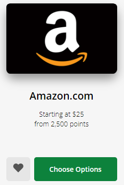 Redeeming Chase Ultimate Rewards points for Amazon gift cards