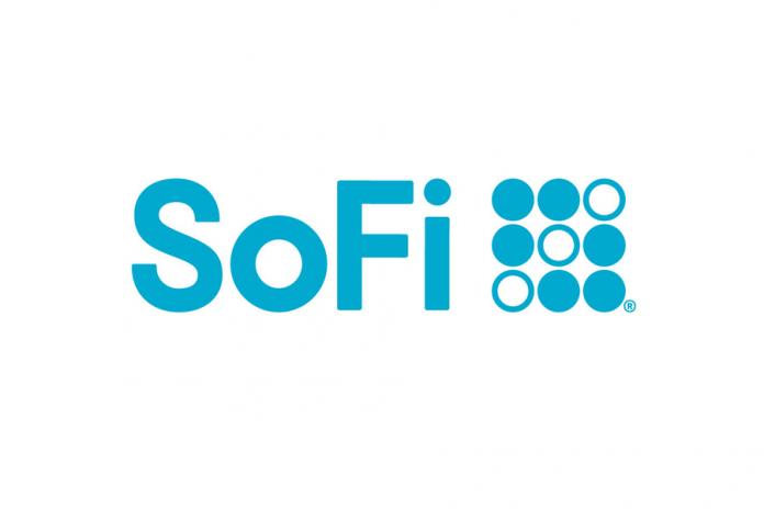 SoFi logo hero image