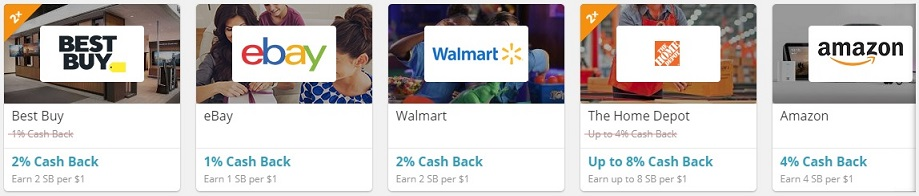 Swagbucks cash back shopping
