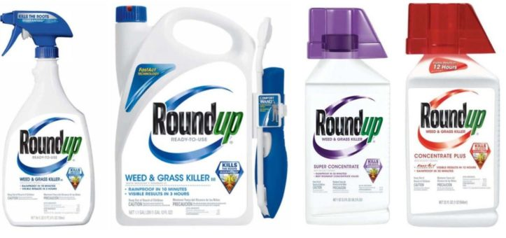 variety of Roundup products