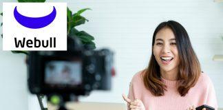 Webull Influencer Program - woman filming video