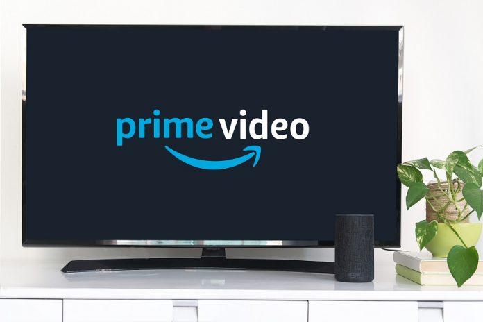 Amazon Prime Video logo on TV
