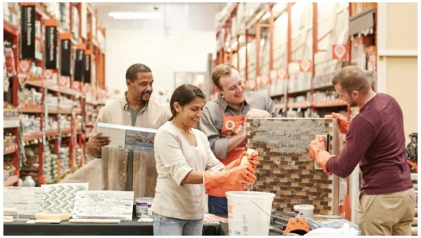 Home Depot workshop conducted in-store