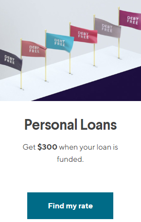 SoFi Personal Loans referral $300 offer