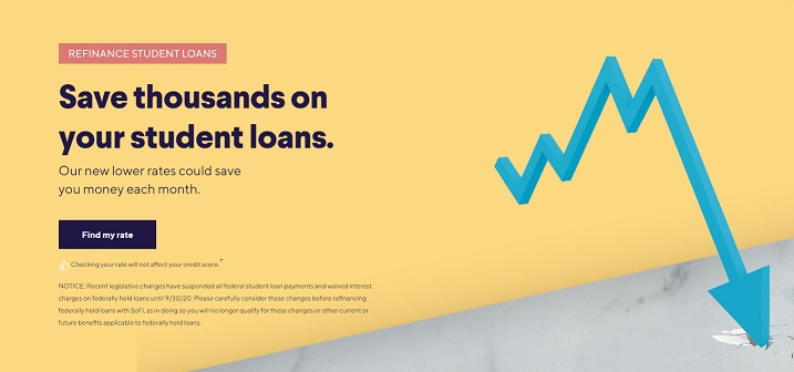 SoFi Student Loan Refi - Find My Rate