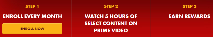 Steps to earn Cheeze-It credit and Prime Video credit