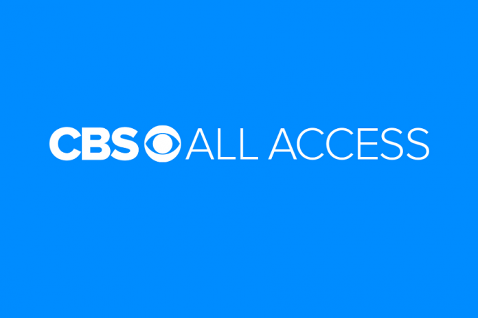 CBA All Access logo against blue background
