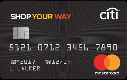 Shop Your Way credit card by Citi