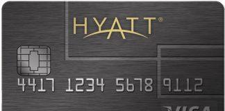 Hyatt credit card old version