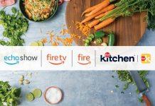 Food Network Kitchen and Amazon hero image