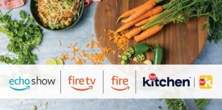 Food Network Kitchen and Amazon hero image