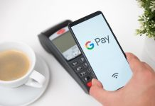 Google Pay on phone hero image
