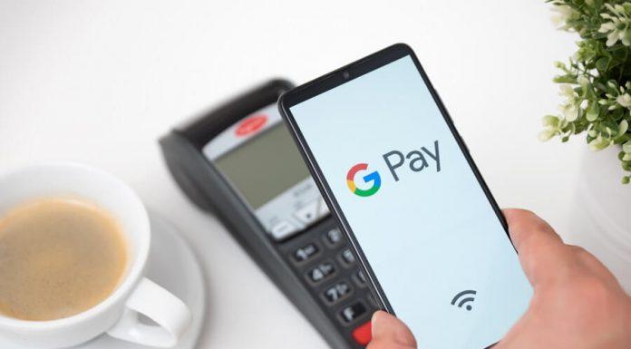 Google Pay on phone hero image