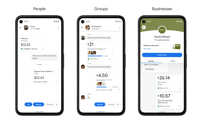 Google Pay - pay people, groups, and businesses