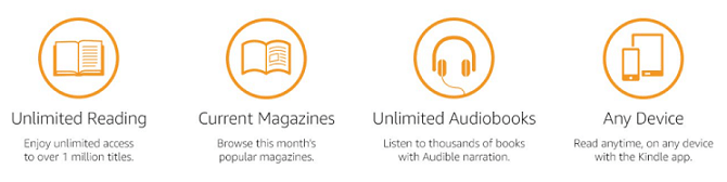 Kindle Unlimited benefits