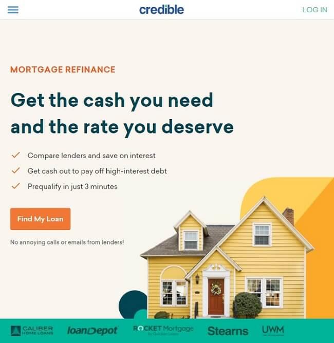 Credible home page
