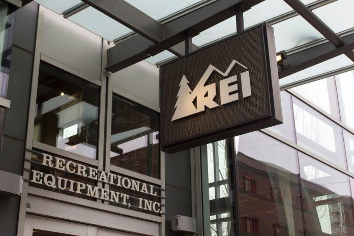REI Recreational Equipment Inc store front