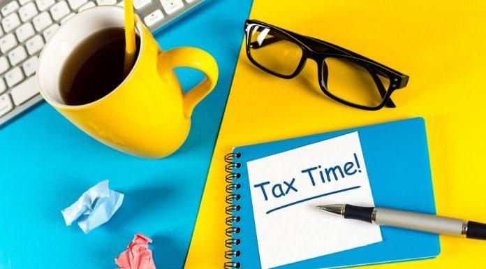 Tax Time bicolor hero image