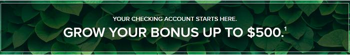 Associated Bank $500 checking bonus banner