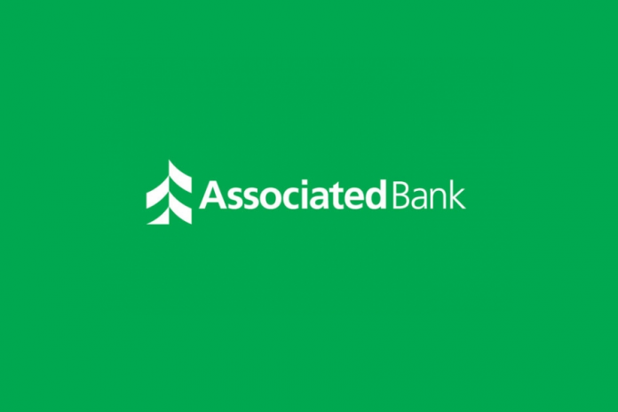 Associated Bank green logo background hero image