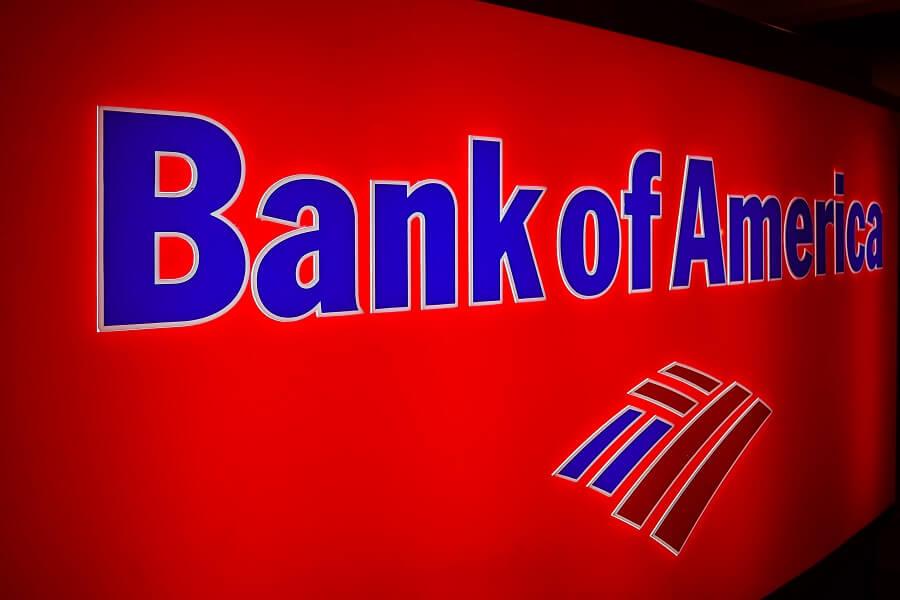 Bank of America neon sign hero image