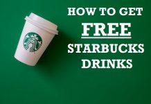 How to get free Starbucks drinks hero image