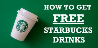 How to get free Starbucks drinks hero image
