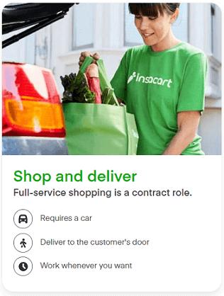 Instacart full-service shopper overview