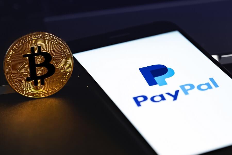 PayPal crypto hero image