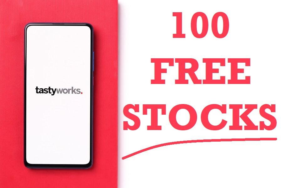 Tastyworks free stocks hero image