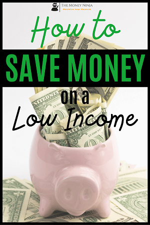 How to save money on a low income sidebar ad