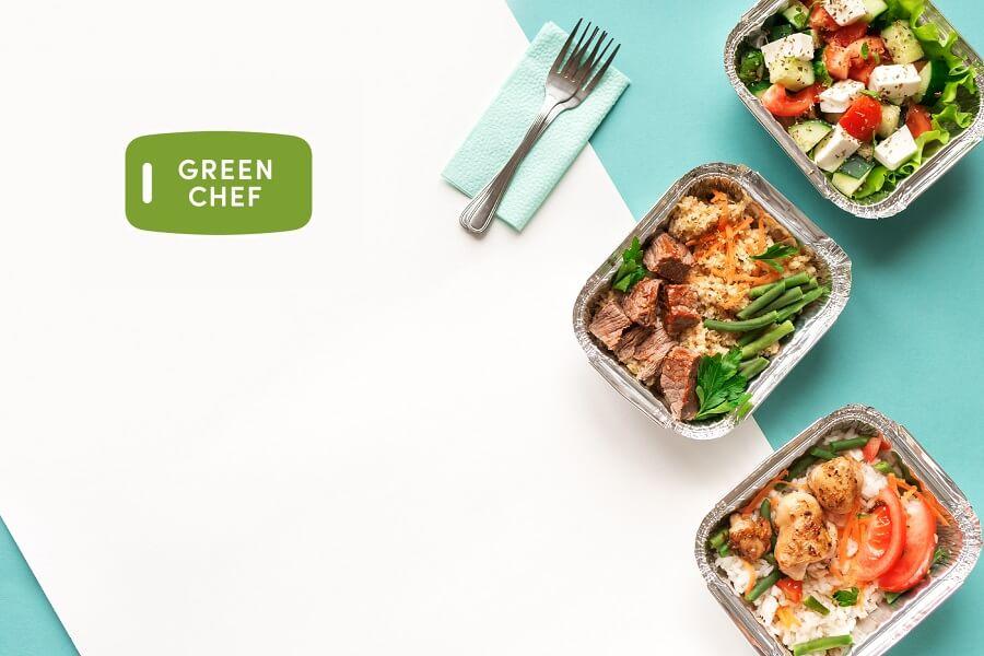 Green Chef free box hero image